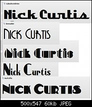 Click image for larger version.  Name:Nick Curtis fonts.jpg Views:136 Size:59.6 KB ID:115788
