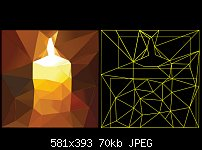 Click image for larger version.  Name:low poly candle.jpg Views:25 Size:70.3 KB ID:124040