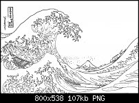 Click image for larger version.  Name:great wave of kanagawa trace.jpg Views:32 Size:106.6 KB ID:126518