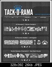 Click image for larger version.  Name:Tack0rama.jpg Views:822 Size:26.2 KB ID:95045